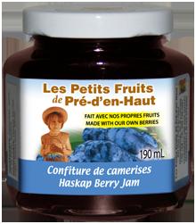 haskap berry jam