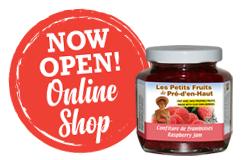 Now open online shop-ENG